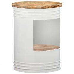 Tömör mangófa dohányzóasztal 43 x 55 cm